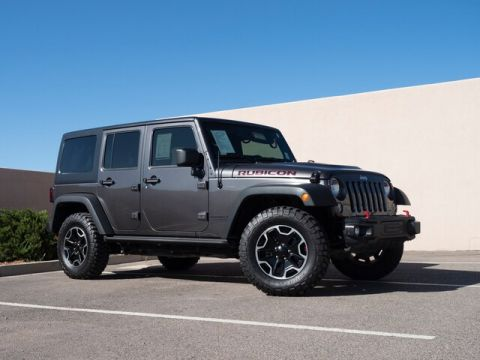 2014 Jeep Wrangler Unlimited Rubicon, 4dr LOADED